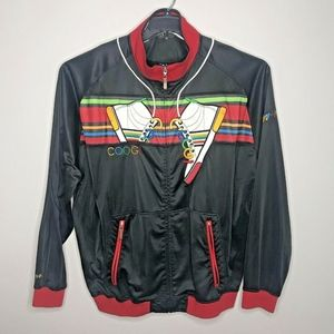 Coogi Sneaker Spellout Track Jacket 5XL Embroider